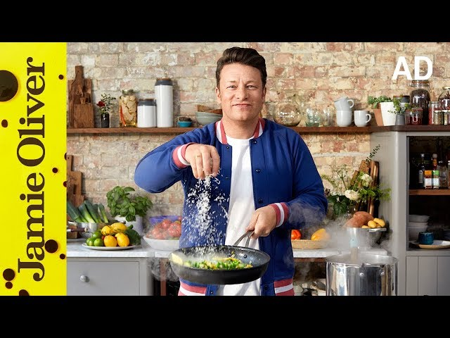Creamy Pea Courgette Pasta Jamie Oliver Ad Youtube