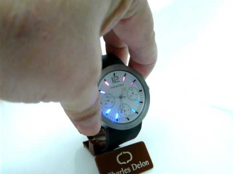 54c39431cdaab 4141-01 Zegarek Charles Delon - YouTube