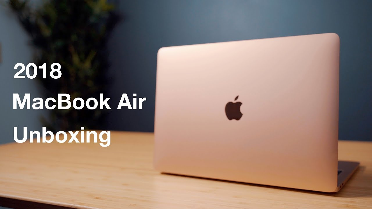 Hands-On With the New 2018 MacBook Air - MacRumors