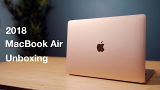 2018 MacBook Air Unboxing & Hands On