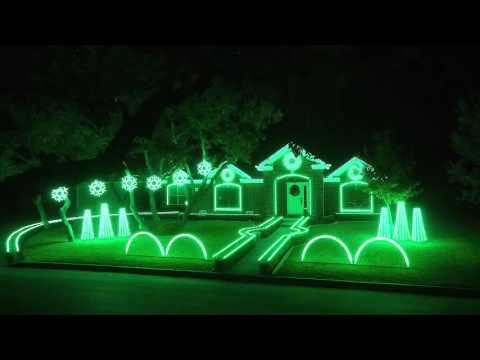 Best of Johnson Family Dubstep Christmas Light Show