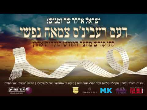 ישראל אדלר - דעם רעבינ'ס צמאה נפשי - תולדות אהרן | Yisroel Adler - The Rebbes Tzamah Nafshi