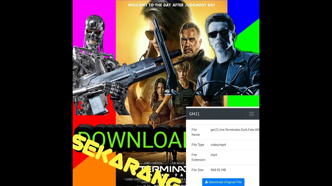 Cara download film terminator dark fate 2019 full movie ...