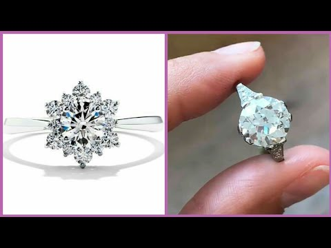 Beautiful Diamond Gold Rings Collection 2019/Rose Gold Engagement Rings Designs