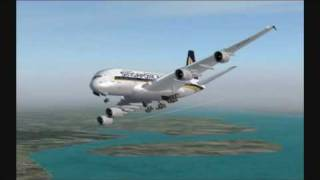 FSX AIRLINERS: Singapore Airlines A380 Special Edition