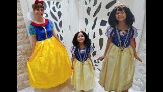 Elife Yeni Pamuk Prenses kostümü , Lera pamuk prenses mi ? yoksa elif mi daha güzel oldu ? Video
