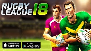 Rugby League 18 Android/iOS Gameplay ᴴᴰ