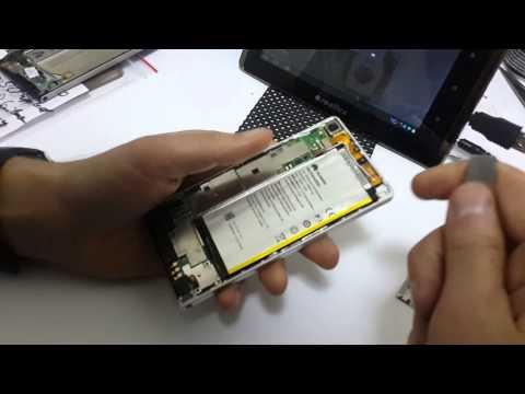 Ремонт телефонов Huawei. Как заменить дисплей Huawei P6 как разобрать?