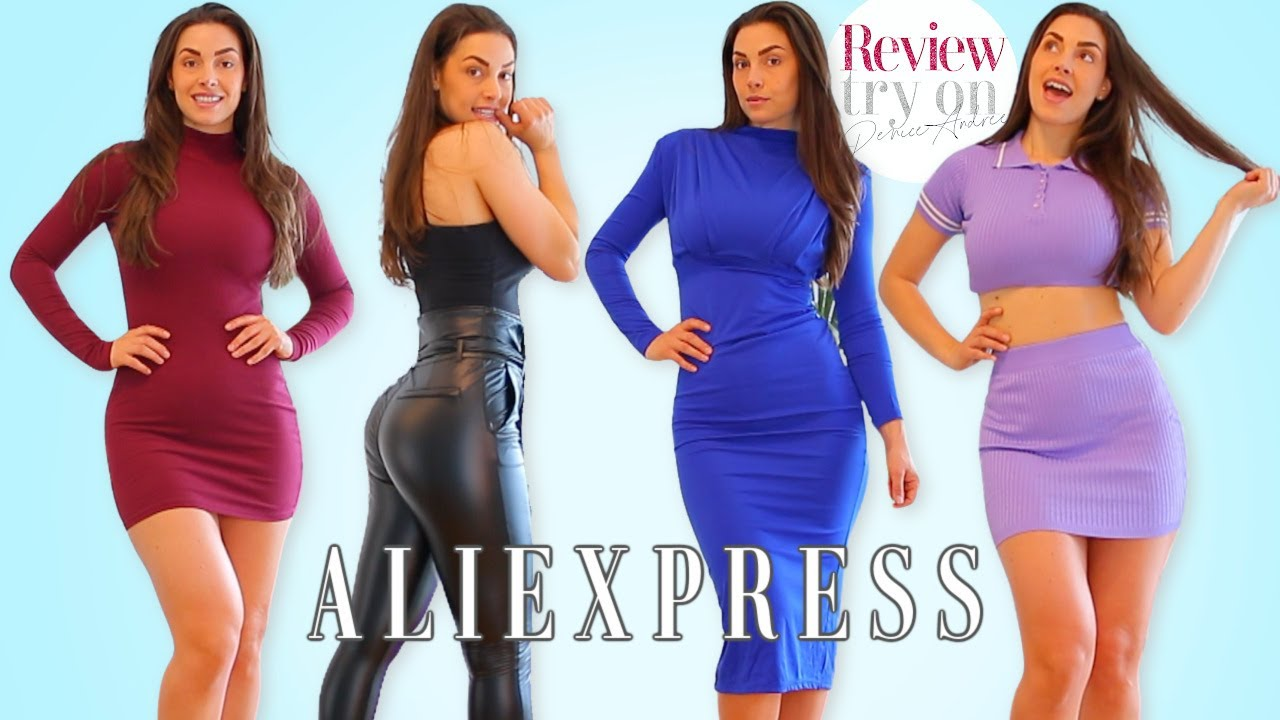 Glam luxury affordable clothes from Aliexpress | #lookbook #tryon