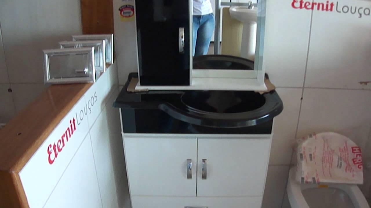 armario banheiro  YouTube -> Armario De Banheiro Amadeirado