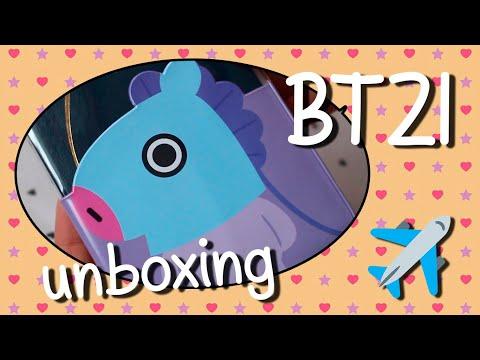[unboxing] bt21 mang passport case ✨