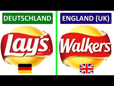 10 Marken, die in anderen Ländern anders heißen!