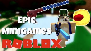 WINNING EVERY GAME | Roblox Epic Minigames Gameplay
