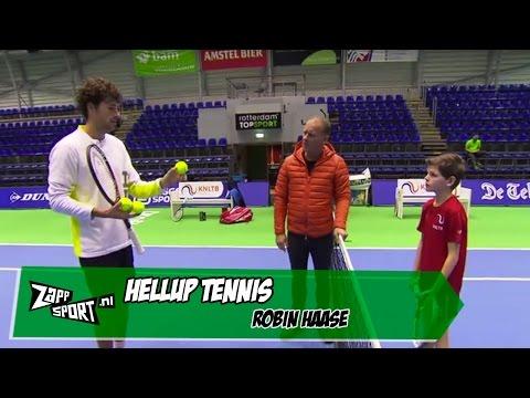 HELLUP! Tennis met Robin Haase | ZAPPSPORT