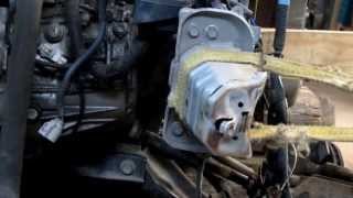 Toyota Yaris. Ремонт переда. Repair the front body part  on Toyota Yaris.