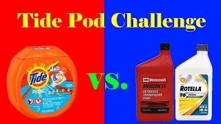 Product Review: Tide Pod Challenge