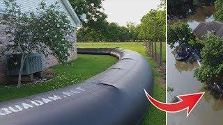 Соседи смеялись над ним, что он построил вокруг своего дома, но потом пожалели, что не сделали это…