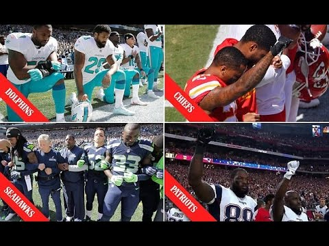 American Football NFL Players Join Colin Kaepernick Protests