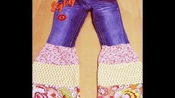Nähen mit Claudia *Hippie Styling - Hose - Recycling - Upcycling