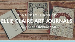Ellie Claire Inspirational Art Journals Review