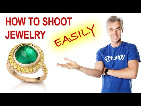 👉💎 JEWELRY photography TUTORIAL (1 EASY way to SHOOT JEWELRY on a table)