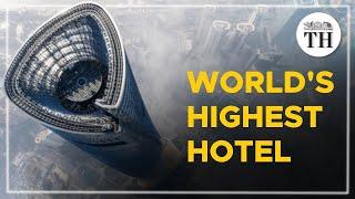 Inside the world's highest luxury hotel