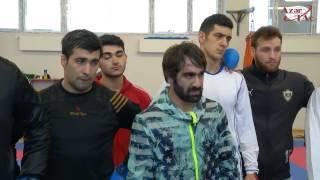 Проходит международный мастер-класс по каратэ для азербайджанских спортсменов