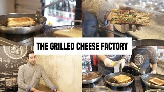 The Grilled Cheese Factory, le cousin US du croque-monsieur