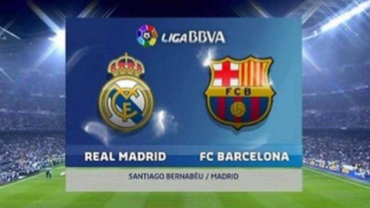 Барселона реал мадрид 23 апреля матч