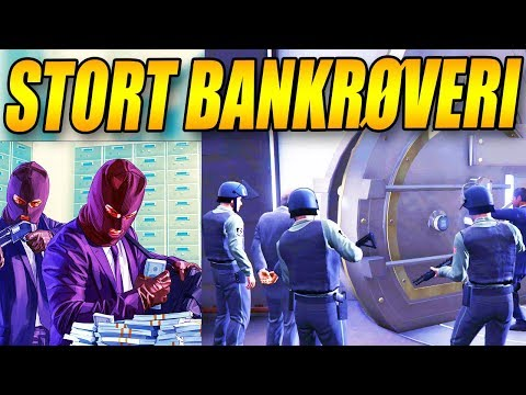 STORT BANKRØVERI - 💲 200 MIL DOLLARS 💲 - GTA 5 GAMEPLAY - GTA 5 STORY MODE - DANSK GTA 5 - [#22]