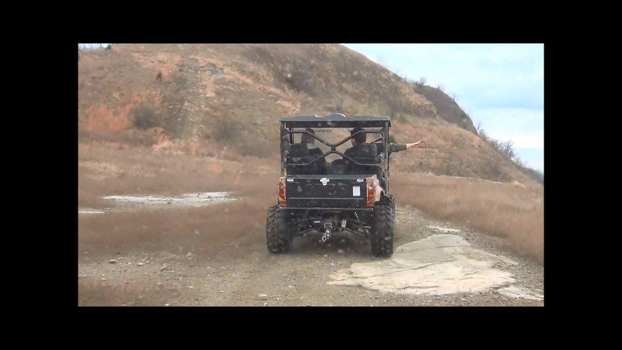 ODES UTV Riding video of the Dominator 800cc UTV Side by Side