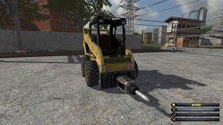 Demolition Company Gold Edition: Destroying a sub station!! (pc sim game)