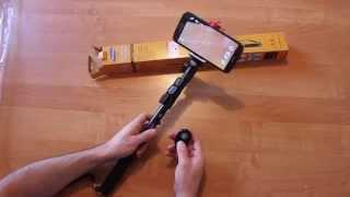 Монопод для смартфонов iPhone и Android. Штатив для селфи
