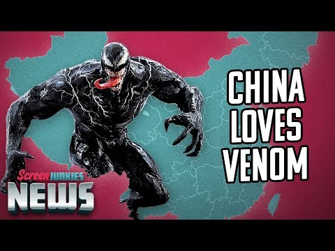 Venom Opens HUGE in China; Grinch Rules US - Charting with Dan!