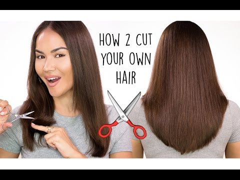 Thumbnail: How To Cut Your Own Hair | Maryam Maquillage