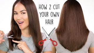 How To Cut Your Own Hair | Maryam Maquillage