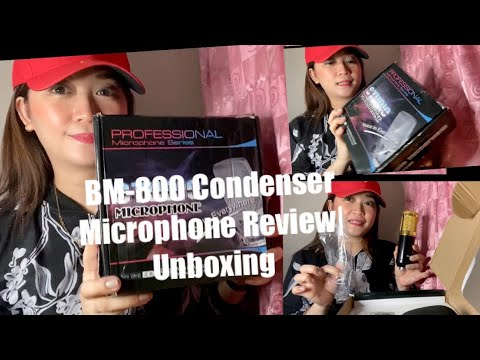BM-800 Condenser Microphone Review   Unboxing   Vlog#11
