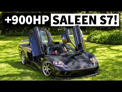 The Saleen S7 Puts 900hp in a 2900lb Package. Racecar for the Streets!