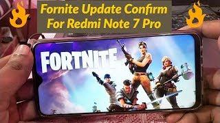 Fortnite Update Confirm on Redmi Note 7 Pro | Ab Realme 3 Pro Ka Kya Hoga?