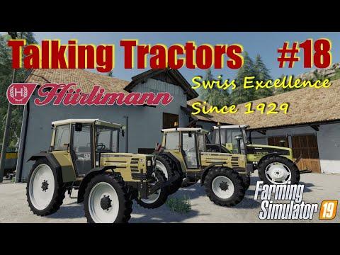 Farming Simulator 19   Talking Tractors #18   Huerlimann Tractors