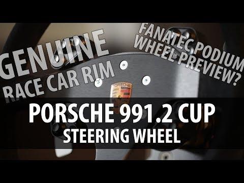 Porsche 991.2 Cup Steering Wheel Review