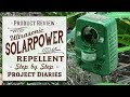 ★ Do Solar Powered Animal Repellents work? (Bquen / Anglink Product Review)