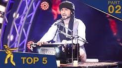 مرحلۀ ۵ بهترین - فصل پانزدهم ستاره افغان / Top 5 - Afghan Star S15 - Part 02