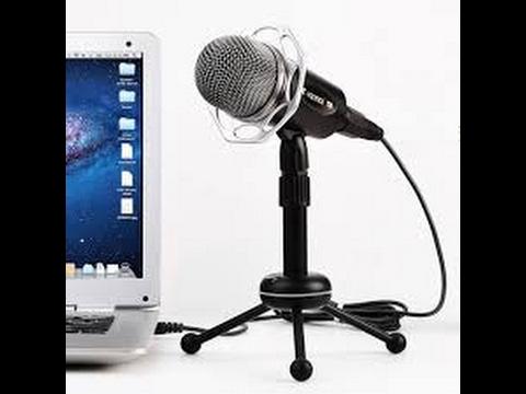 Bir bilgisayar kurma: mikrofon nasıl ayarlanır