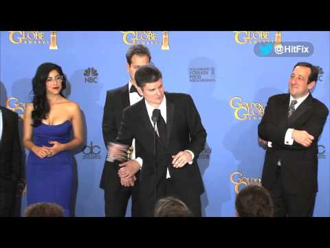 The Cast & Crew of Brooklyn Nine-Nine at the Golden Globes 2014