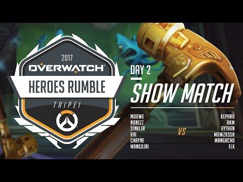 OPC vs Heroes | 表演賽 | 《鬥陣特攻》英雄大亂鬥