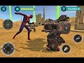 Flying Spider Hero VS X Superhero Robots  - Video Cartoons For Kids - Android Gameplay