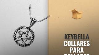 Productos 2018, Los 10 Mejores Keybella: Keybella Stainless Steel Powerful Pentacle Necklaces