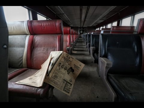 The Abandoned NYC Subway Train Untouched 1999