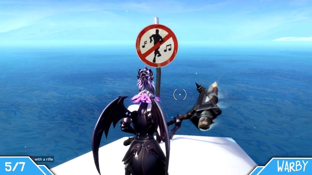Fortnite Battle Royale All Forbidden Dance Locations Guide Season